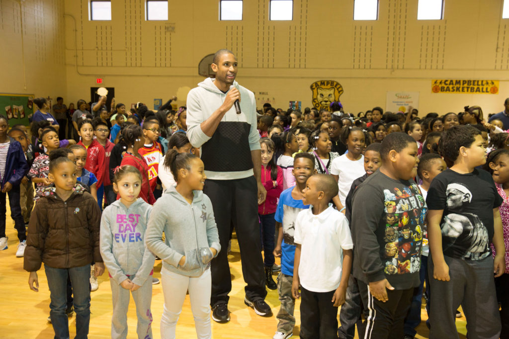 Al Horford at Campbell School