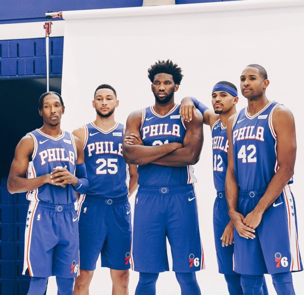 Al Horford's first Media Day with the Philadelphia 76ers.
